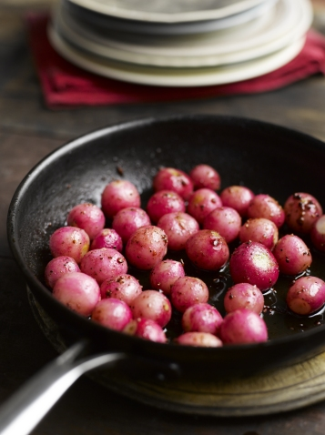 Xanthe Clay's caramelised radishes