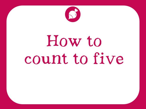How to count to 5